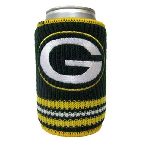 knit koozie green bay packers knitted koozie products