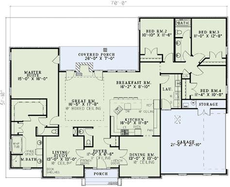 4 bedroom ranch floor plans 4 bedroom ranch house plans plan w59068nd neo traditional 4 bedroom house plan home