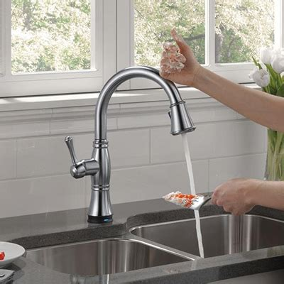 touch faucet kitchen kitchen faucets quality brands best value the home depot