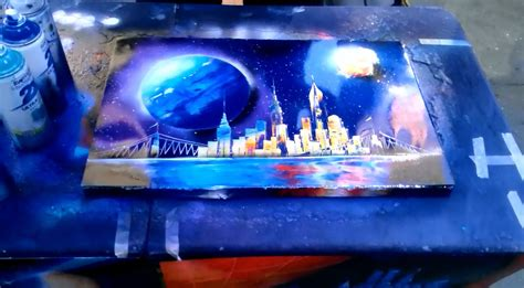 spray painter nyc painting artist in new york city part 2 spray