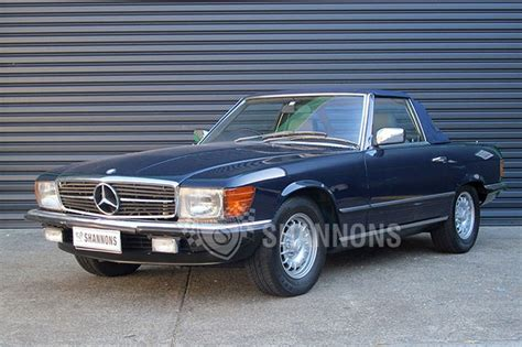 Mercedes 380sl Convertible by Mercedes 380sl Convertible Auctions Lot 4 Shannons