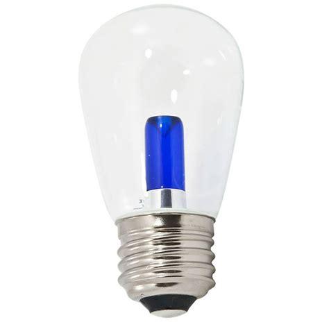 blue led light bulb blue transparent led s14 professional series light bulbs