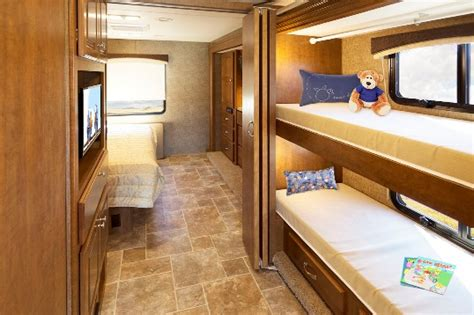 class a motorhome with bunk beds roaming times rv news and overviews