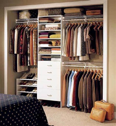 organize bedroom closet dicas para closet pequeno arquidicas