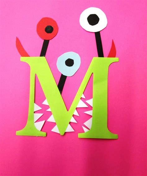 letter a crafts for letter m crafts preschool and kindergarten