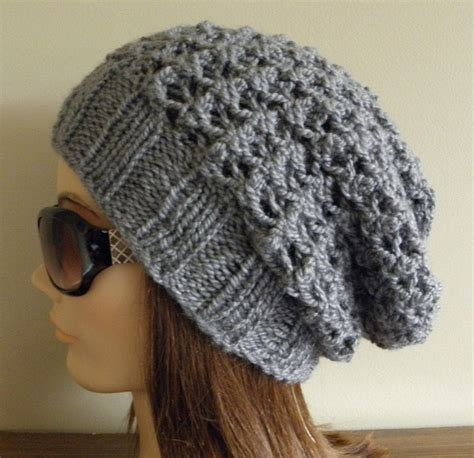 pattern for knitted slouch hat pdf knitting pattern knit slouchy hat latissa