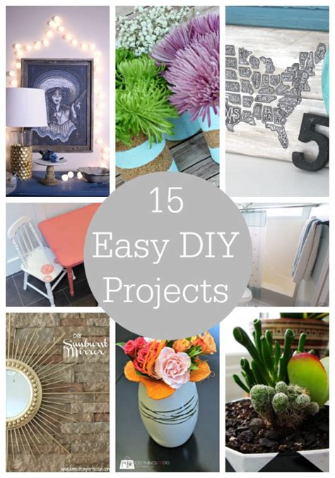 simple diy crafts for 15 easy diy projects link features i nap time