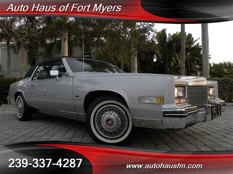 Cadillac Of Fort Myers by 1985 Cadillac Eldorado Ft Myers Fl For Sale In Fort Myers