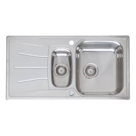 kitchen sink inset reginox elegance diplomat 1 5 stainless steel inset