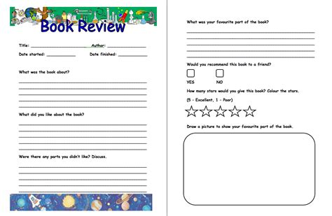 picture book reviews book review template http webdesign14