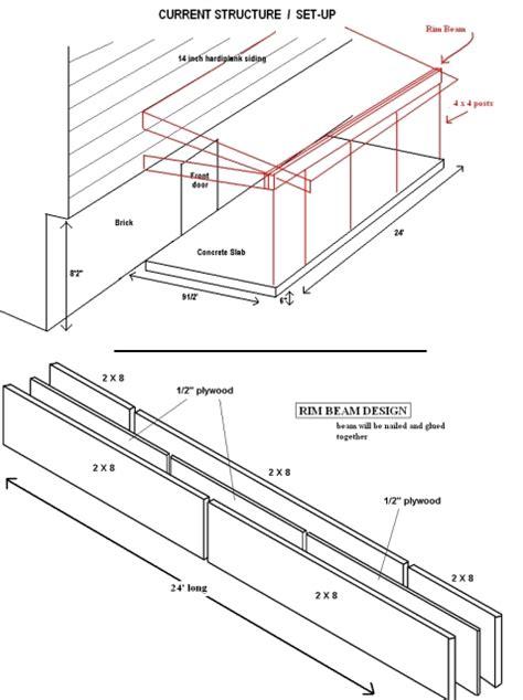 porch building plans building plans for a patio roof 171 unique house plans