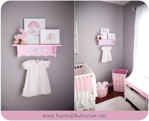 pink and grey nursery decor raising memories pink and gray baby nursery