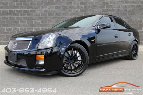 Cts Cadillac 2005 by 2005 Cadillac Cts V Sedan 6 Speed Manual 470 Rwhp