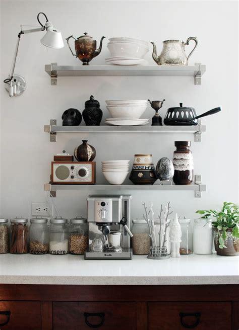 kitchen shelves interior envy open kitchen shelves pardon my