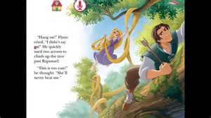 rapunzel story book with pictures rapunzel challenge story book by disney story time disney