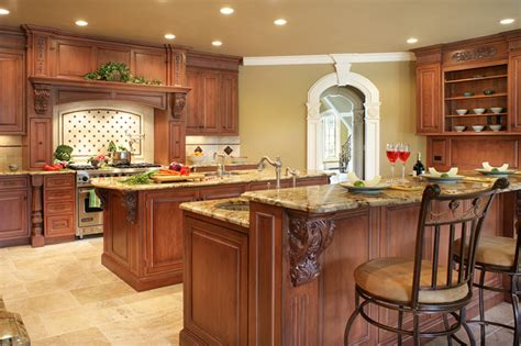 kitchen islands houzz traditional two islands in franklin lakes