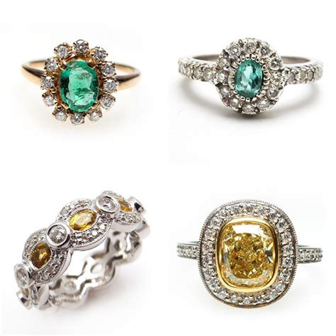 rings jewelry vintage engagement rings by weston jewelry 183 ruffled