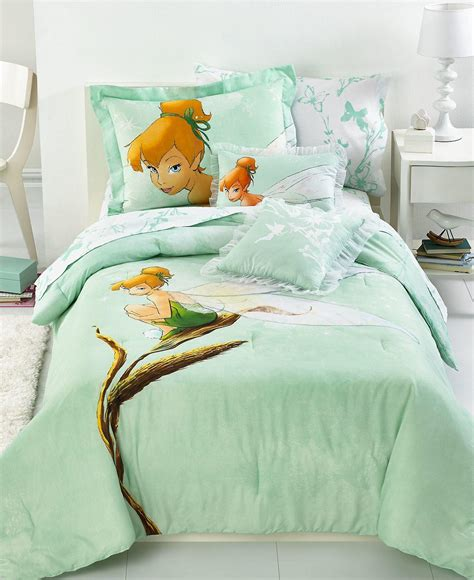tinkerbell comforter set disney bedding tinkerbell tink from macys things i want as