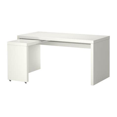 malm white desk malm desk with pull out panel white ikea