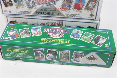 1993 Deck Sp Baseball Box by 1990s Deck Sealed Baseball Card Sets Including