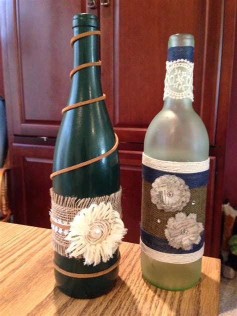 craft projects with wine bottles wine bottle crafts crafts hobbies projects