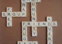 is ave a scrabble word friends and communication self avenue