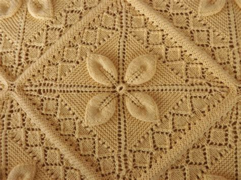 knitted bedspread patterns free mariette s back to basics s knitted bedspread
