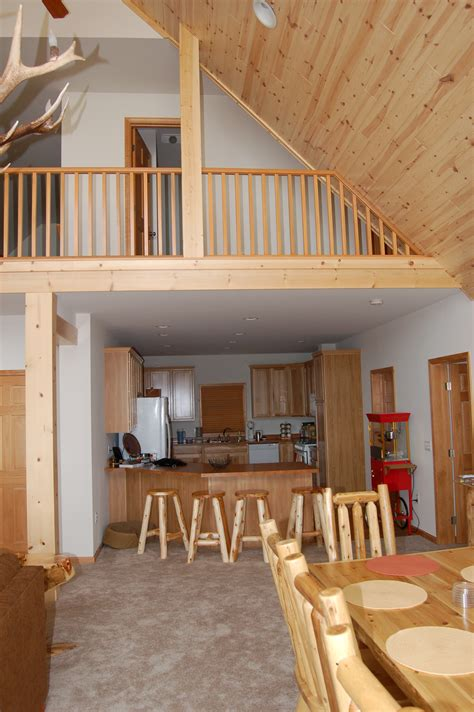 modular home interior interior photo of chalet style modular home with tru vault