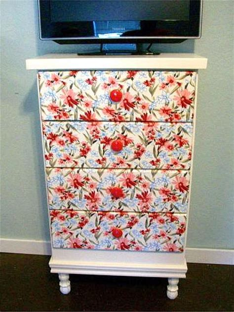 how to decoupage furniture with paper decoupage ideas for furniture easy crafts and