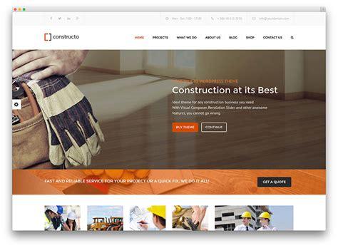 company themes 30 best construction company themes 2017 colorlib