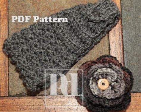 free knitted headband pattern with button closure crochet headband with button closure pattern crochet and