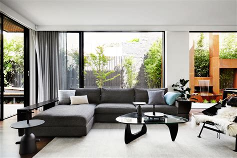 interior design from home a contemporary monochromatic home in melbourne by sisalla interior design design milk