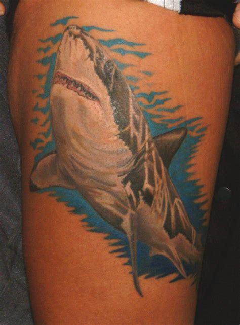 tatto scary shark tattoos
