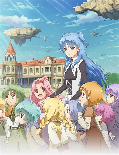 baka updates crunchyroll new visual accompanies dated quot sakusaku quot tv anime