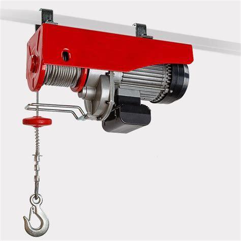 Electric Winch Motors by Electric Hoist Winch 600 1200kg 1 2 Ton Capacity 2000w