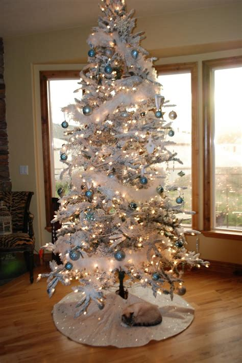 ideas for decorating white trees tree ideas for 2017