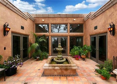 homes with courtyards style homes with courtyards hacienda style