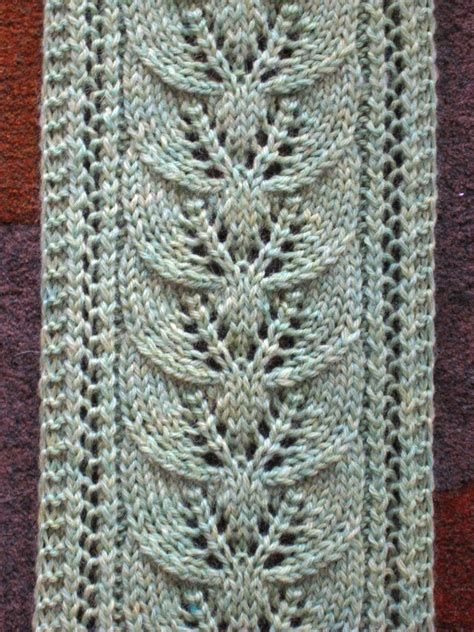 leaf scarf knitting pattern lacy scarf knitting patterns columns knitting stitches