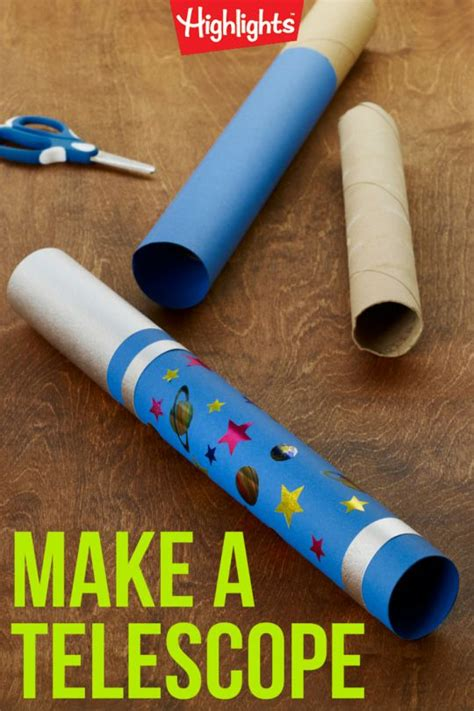 telescope craft for 25 best ideas about space crafts on outer
