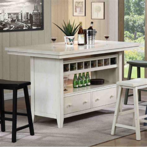 kitchen island table with 4 chairs top 7 white kitchen islands furniture