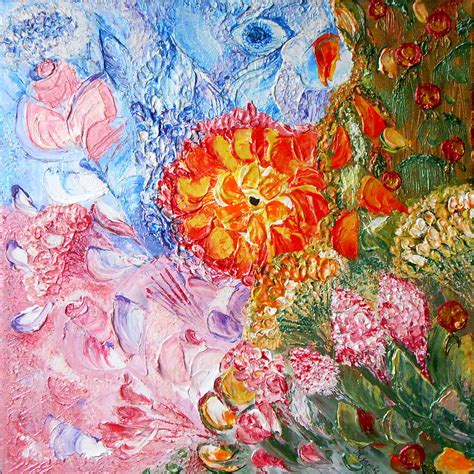 acrylic painting flowers canvas pin flowers acrylic painting on canvas x inches year