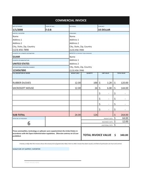 business invoice template example masir