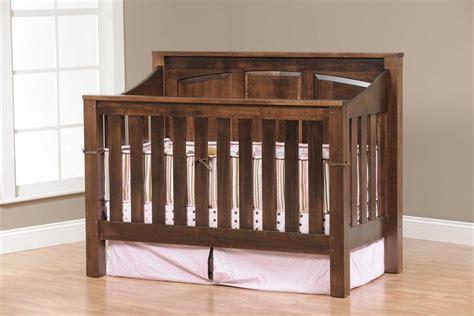 amish baby cribs amish mission convertible crib
