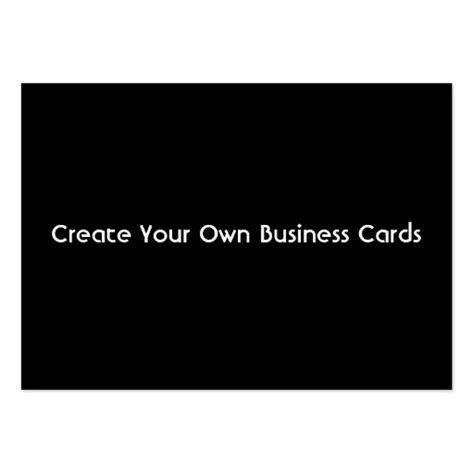 make your own printable card business card create your own zazzle