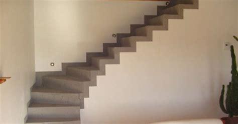 habiller un escalier en b 233 ton brut de conception de maison