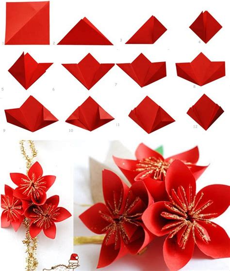 how to fold a flower origami 40 origami flowers you can do