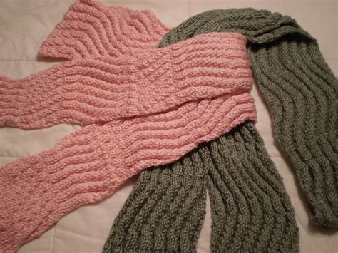 easy knit row counting tips for wavy scarf knitting pattern easy
