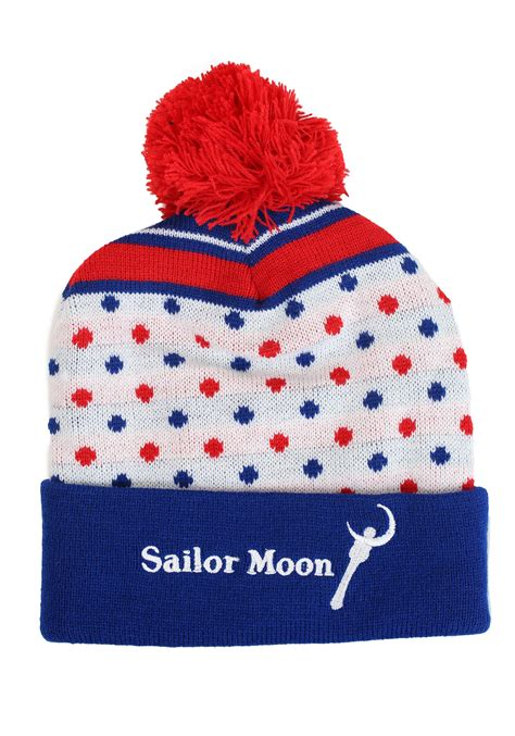 sailor moon knitting patterns sailor moon knit hat with pompom
