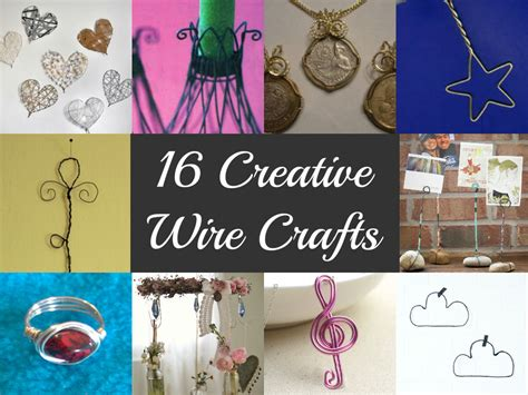 craft wire projects 16 creative wire crafts