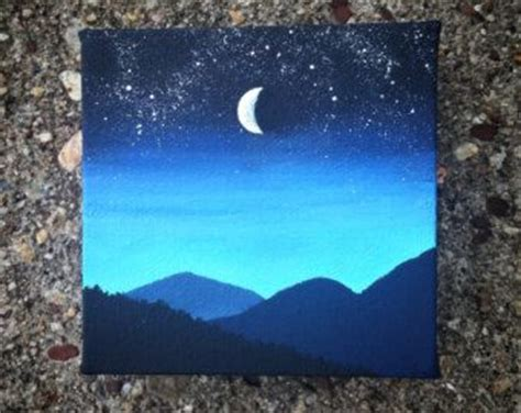 small acrylic painting ideas 25 best ideas about small canvas on small